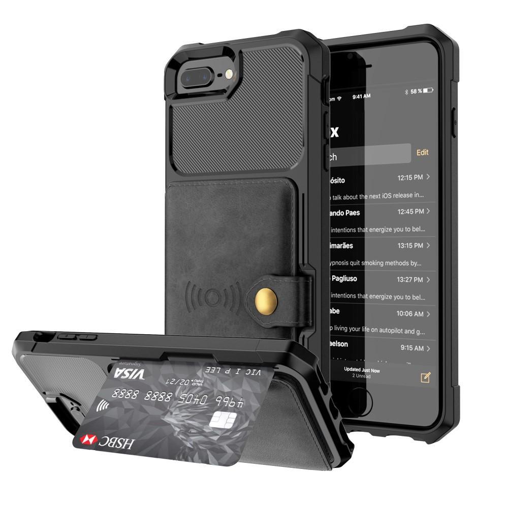 Tough Multi-slot Case iPhone 6/6S/7/8 Plus svart