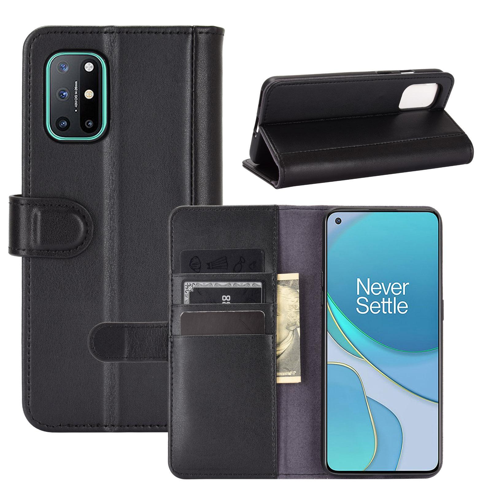 Ekte Lærveske OnePlus 8T svart