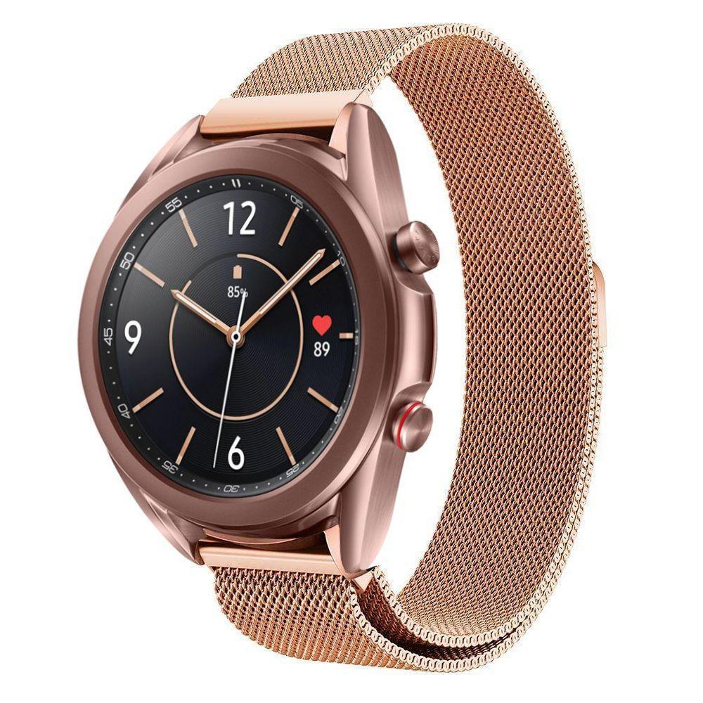 Armbånd Milanese Samsung Galaxy Watch 3 41mm rosegull