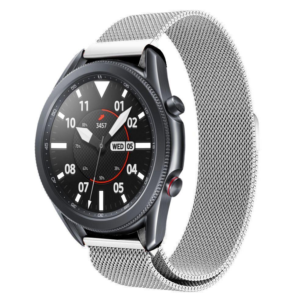 Armbånd Milanese Samsung Galaxy Watch 3 45mm sølv