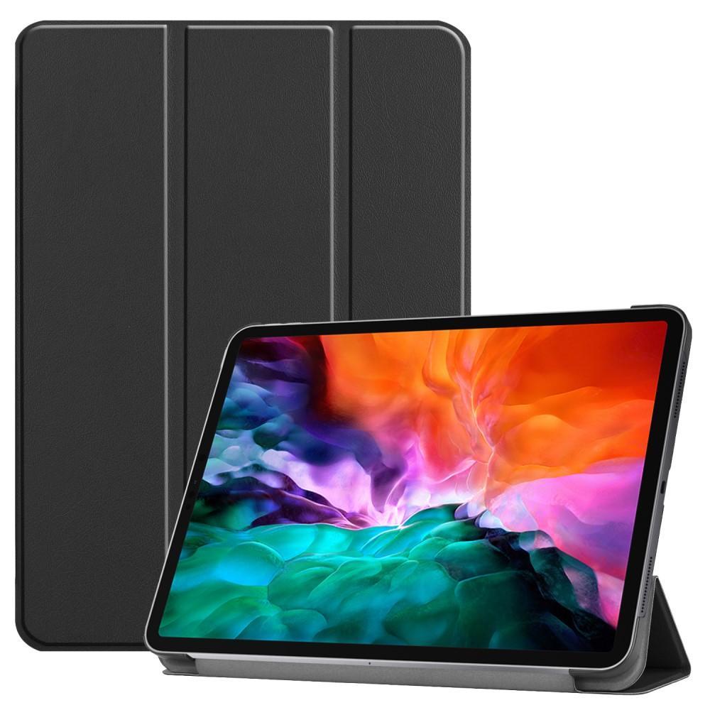 Etui Tri-fold iPad Pro 12.9 2021 svart