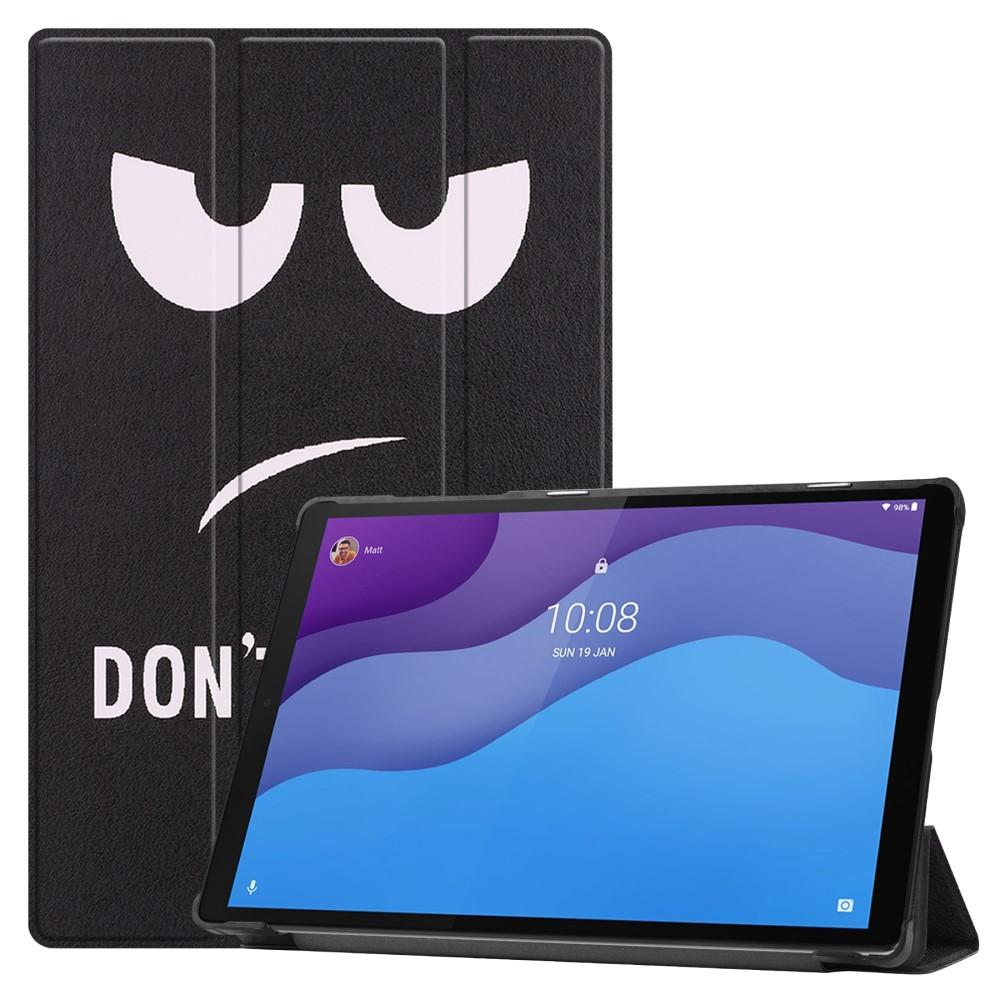 Etui Tri-fold Lenovo Tab M10 HD (2nd Gen) - Don't Touch Me