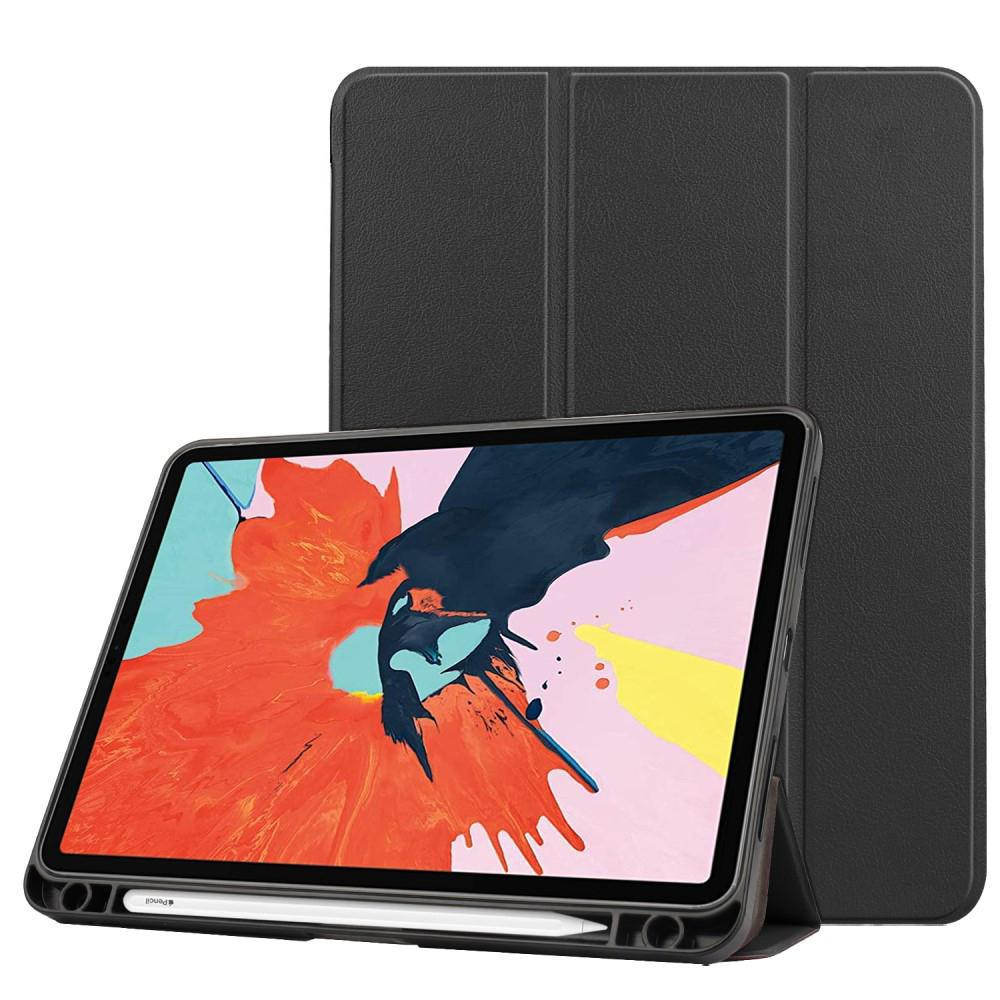 Etui Tri-fold Pencil-holder iPad Air 10.9 2020 svart