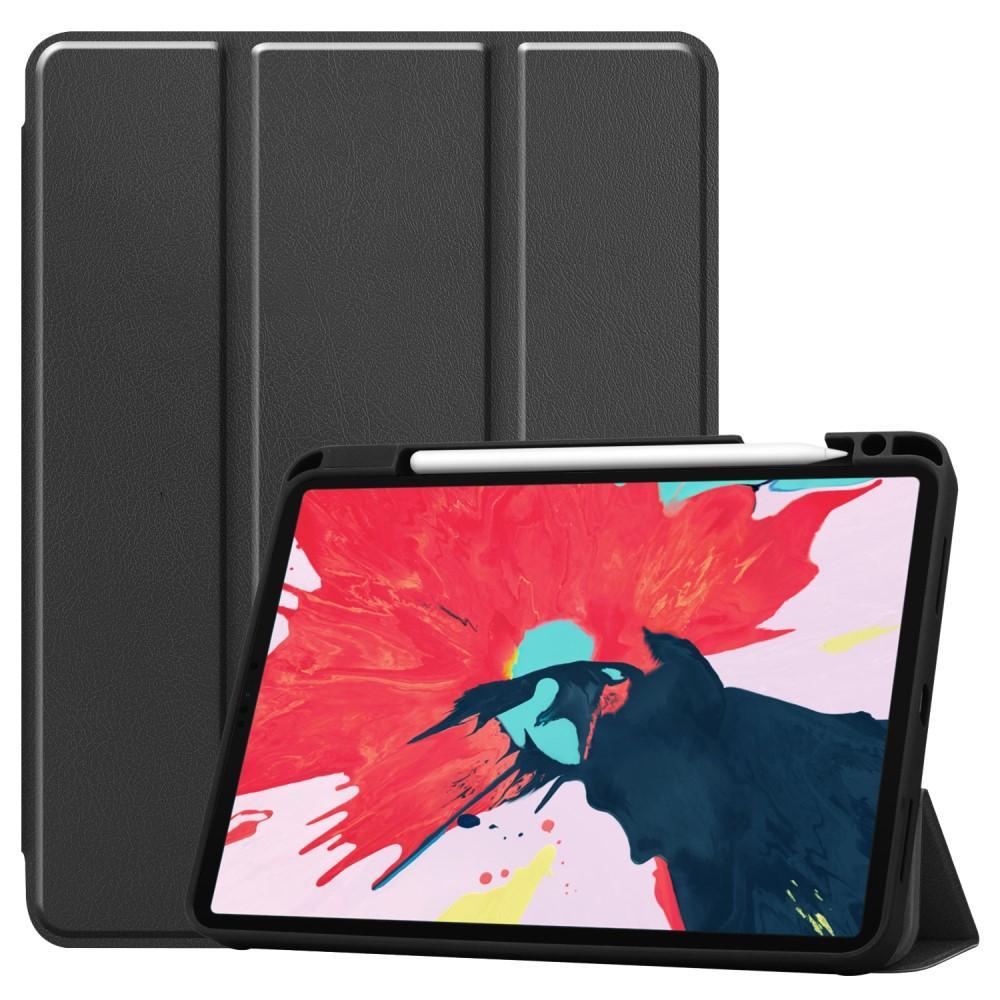 Etui Tri-fold Pencil-holder iPad Pro 11 2020 svart