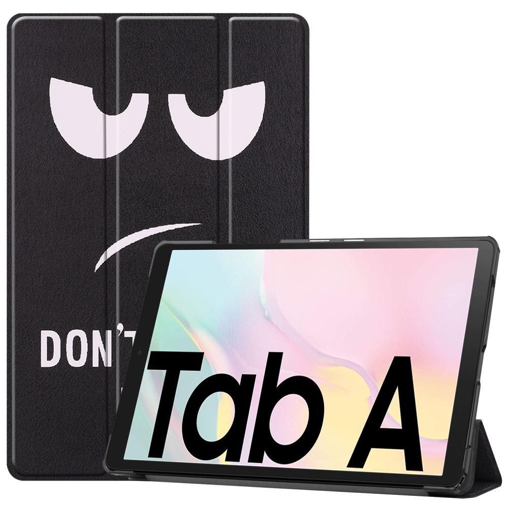 Etui Tri-fold Samsung Galaxy Tab A7 2020 - Don't Touch Me
