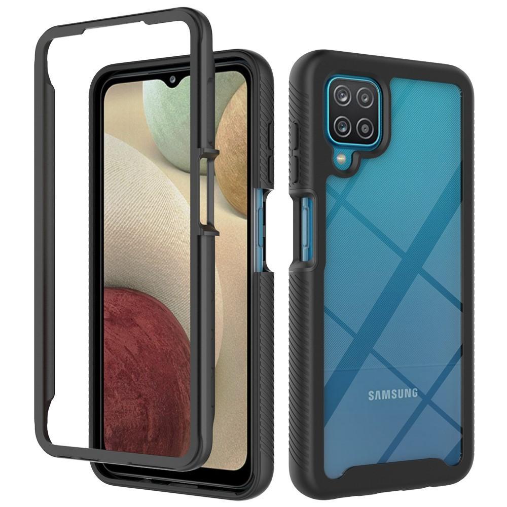 Full Cover Deksel Samsung Galaxy A12 svart
