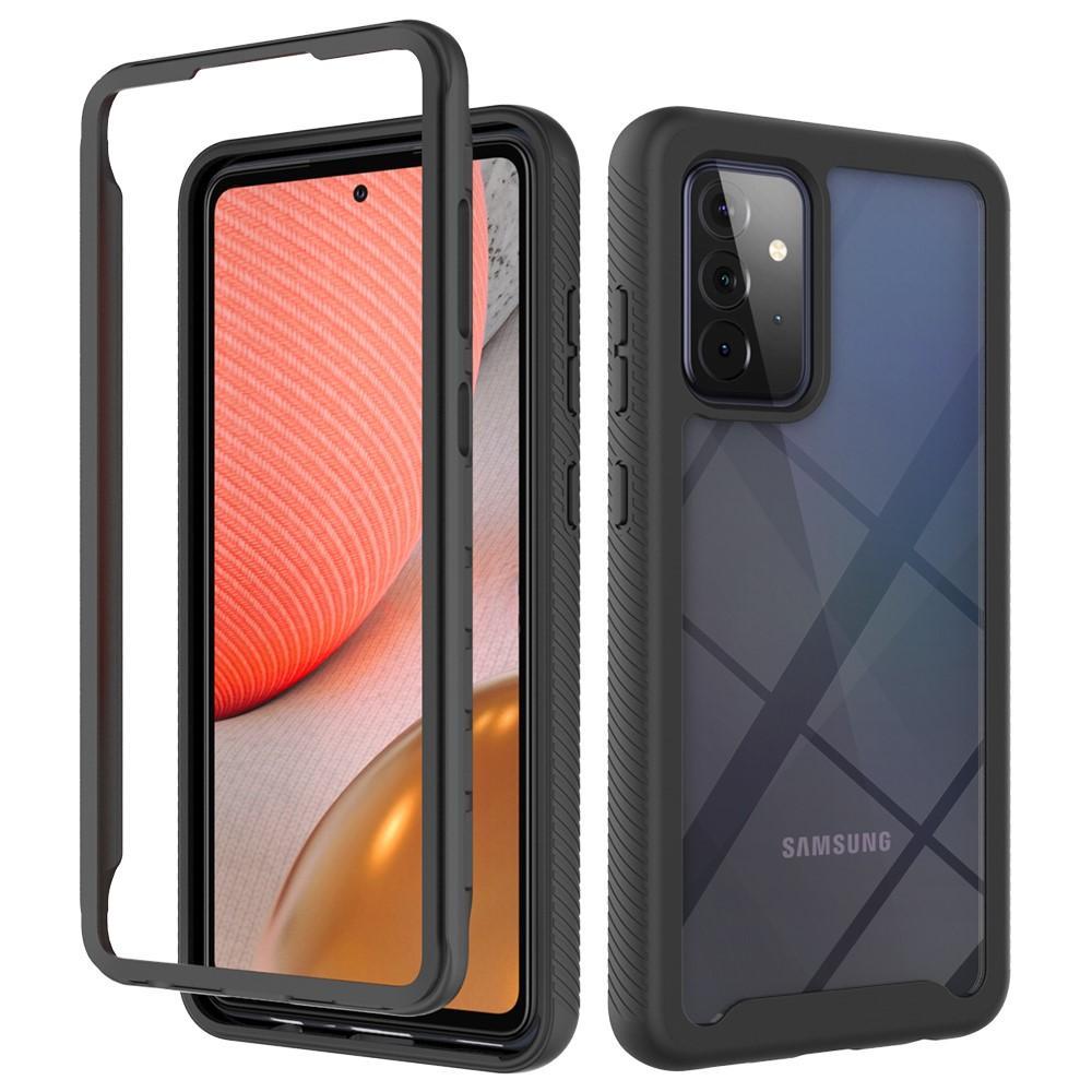 Full Cover Deksel Samsung Galaxy A72 5G svart