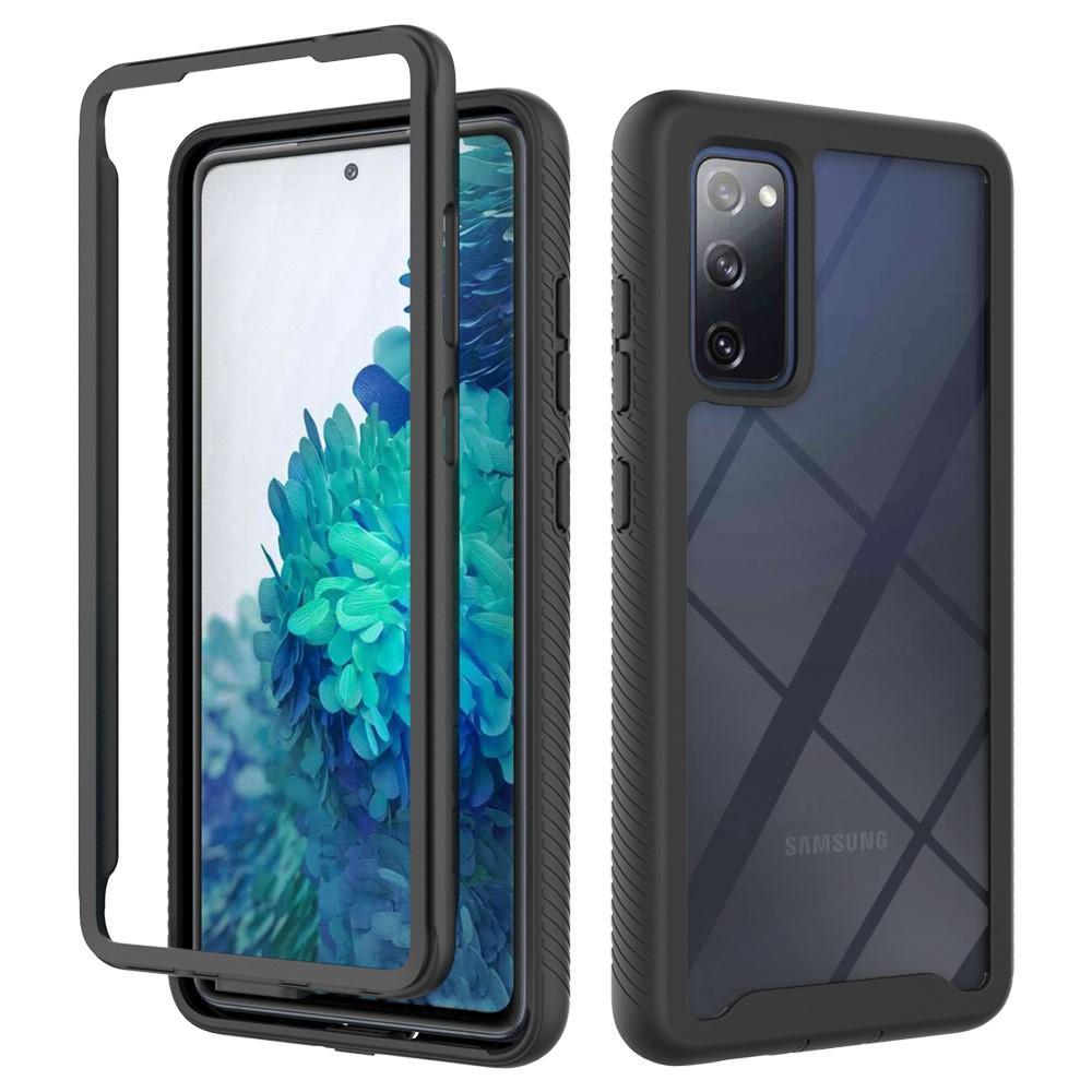 Full Cover Deksel Samsung Galaxy S20 FE svart