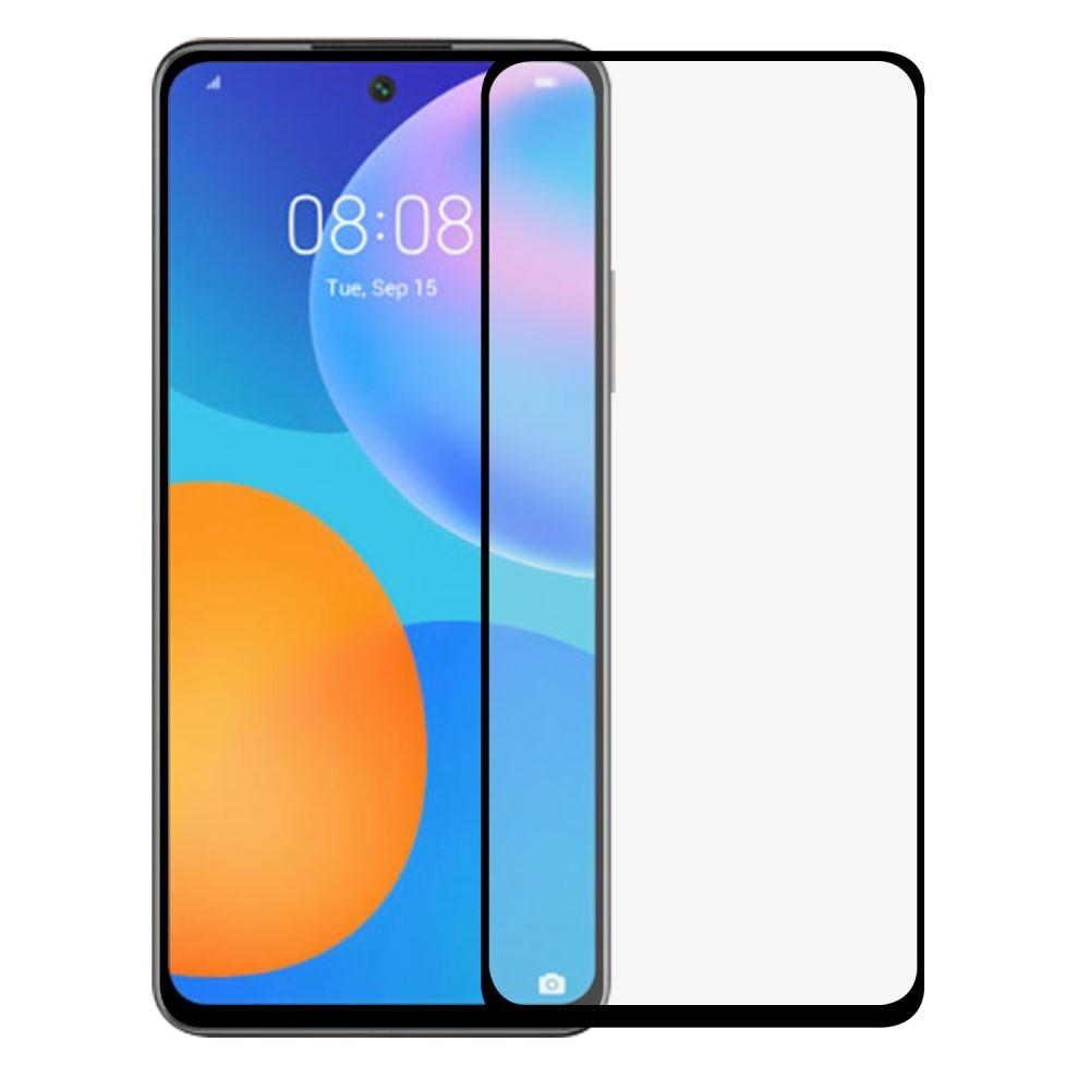 Heldekkende Skjermbeskytter Herdet Glass Huawei P Smart 2021 svart