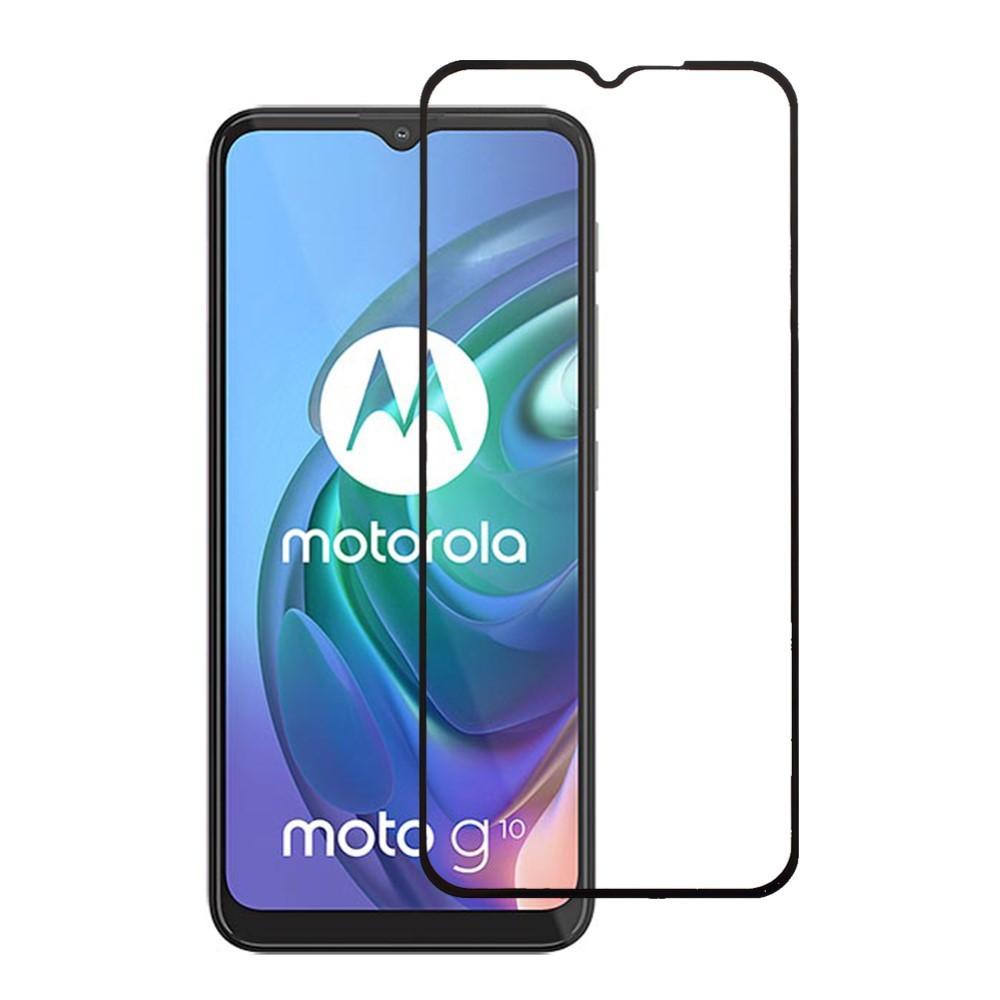 Heldekkende Skjermbeskytter Herdet Glass Motorola Moto G10/G20/G30