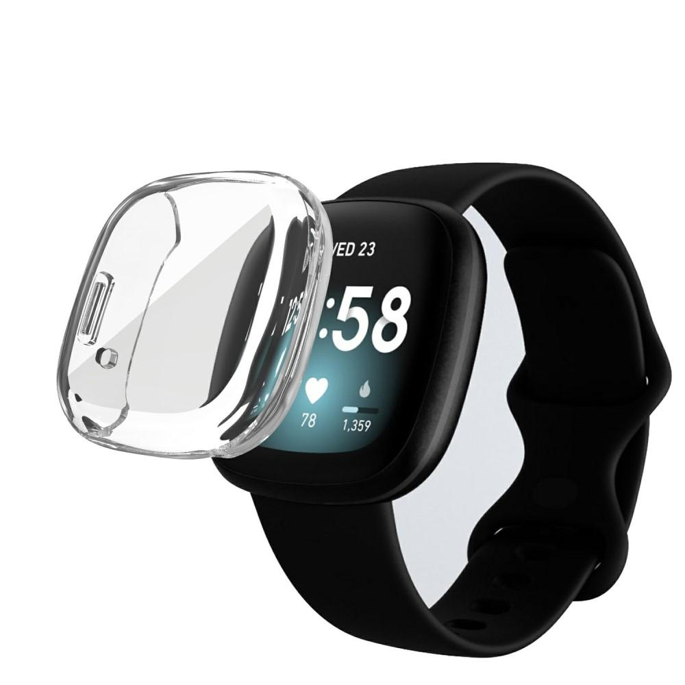 Heldekkende Deksel Fitbit Versa 3/Sense clear