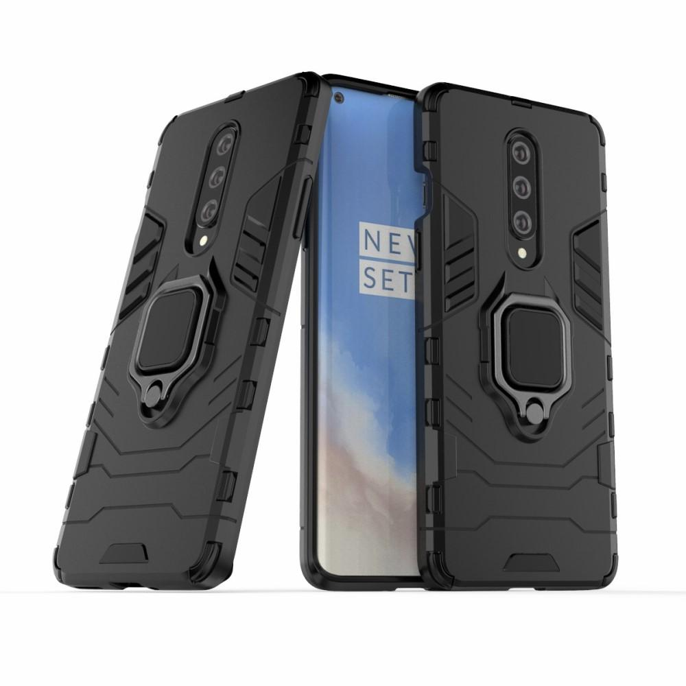 Hybriddeksel Tech Ring OnePlus 8 svart