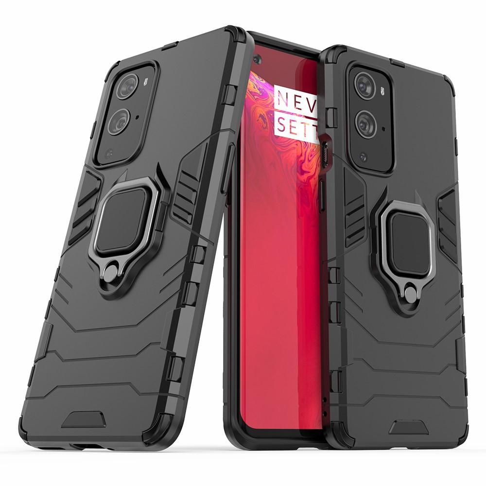 Hybriddeksel Tech Ring OnePlus 9 Pro svart