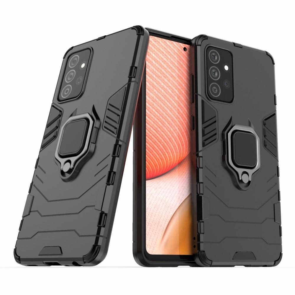 Hybriddeksel Tech Ring Samsung Galaxy A72 5G svart