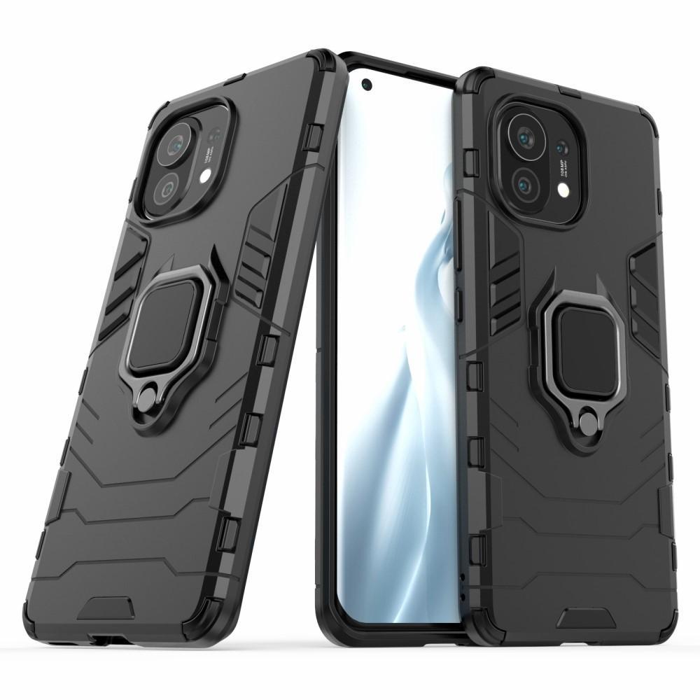 Hybriddeksel Tech Ring Xiaomi Mi 11 svart