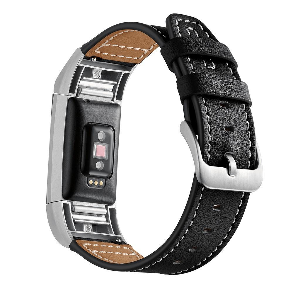 Lærarmbånd Fitbit Charge 2 svart