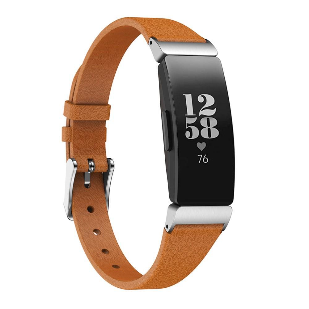 Lærarmbånd Fitbit Inspire/Inspire HR/Inspire 2 brun