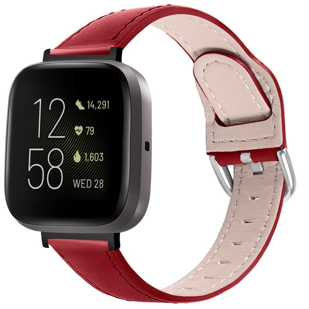 Lærarmbånd Fitbit Versa 3/Sense rød