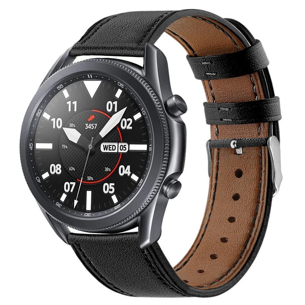 Lærarmbånd Samsung Galaxy Watch 3 41mm svart