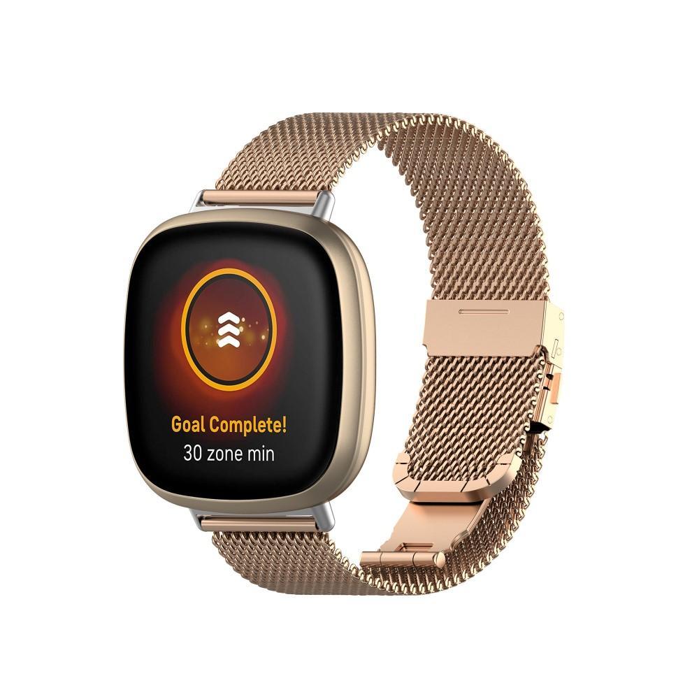 Mesh Bracelet Fitbit Versa 3/Sense Rosegull