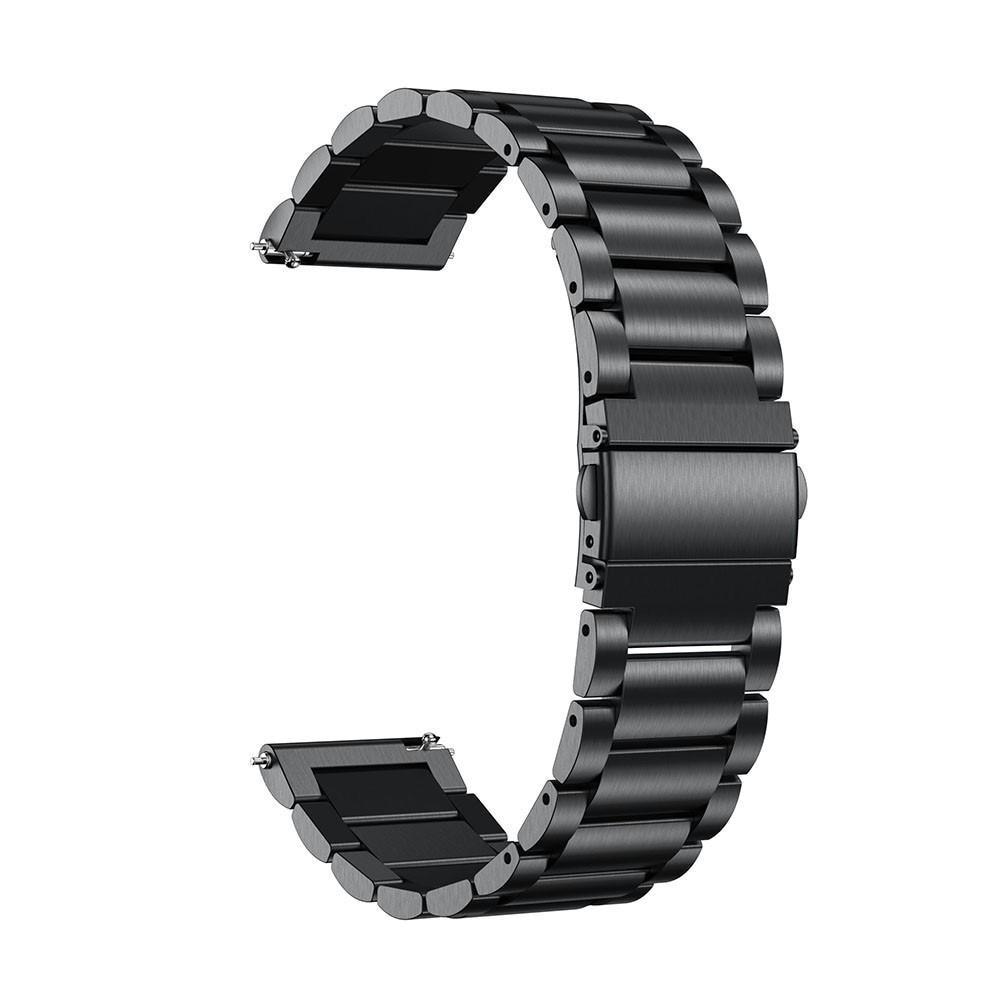 Metallarmbånd Huawei Watch GT 2 42mm svart