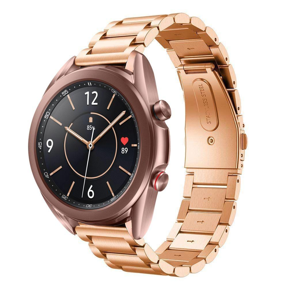 Metallarmbånd Samsung Galaxy Watch 3 41mm rosegull