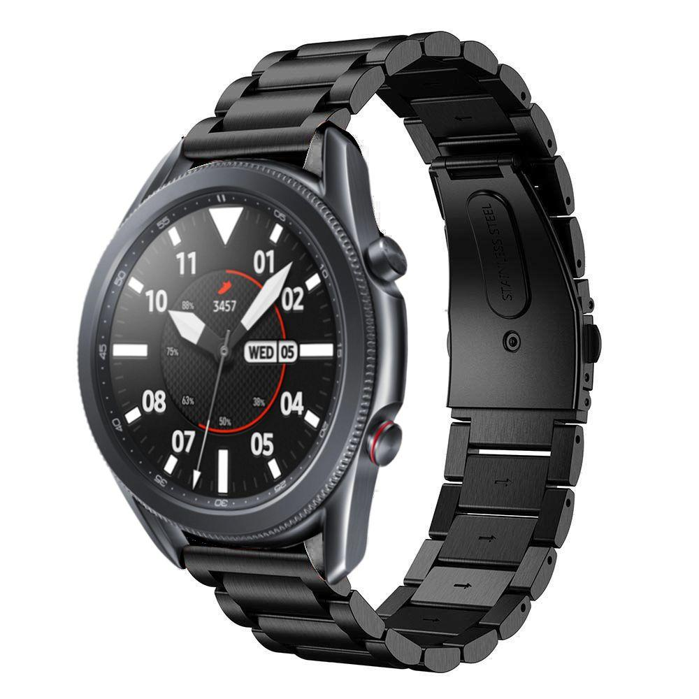 Metallarmbånd Samsung Galaxy Watch 4 40mm/Classic 42mm svart