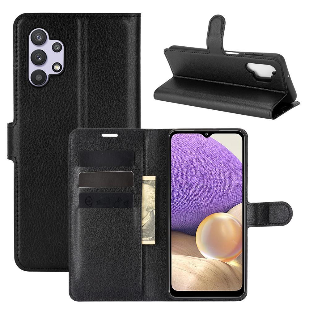 Mobilveske Galaxy A32 5G svart