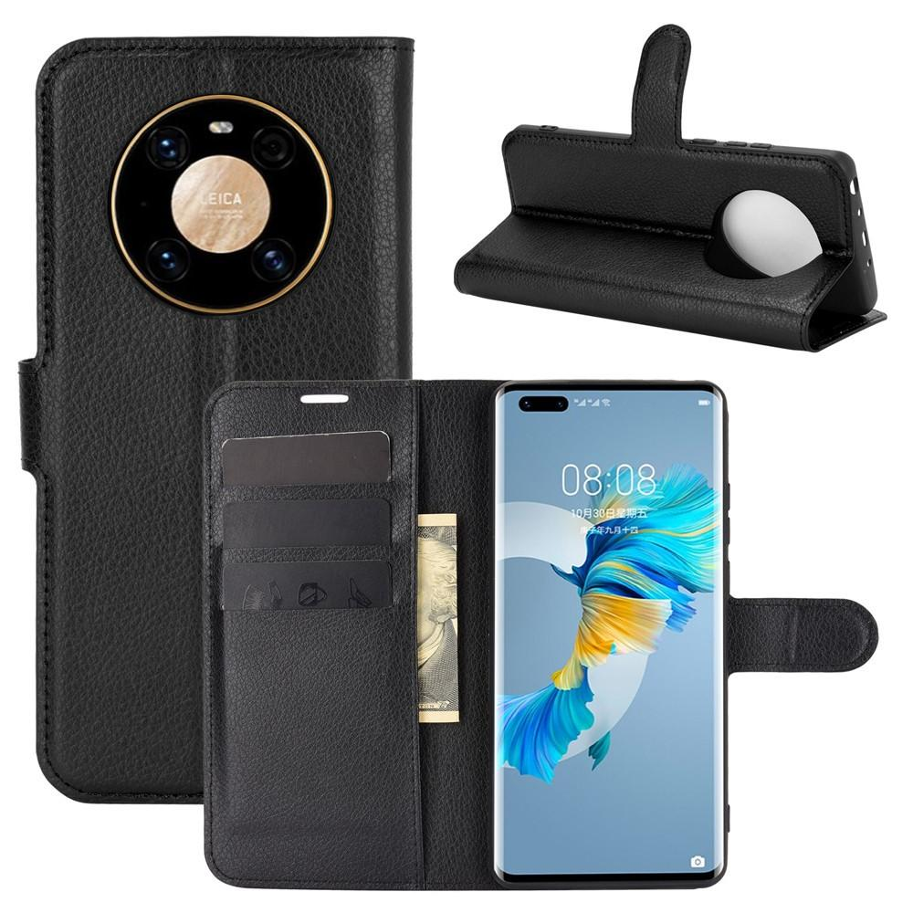 Mobilveske Huawei Mate 40 Pro svart