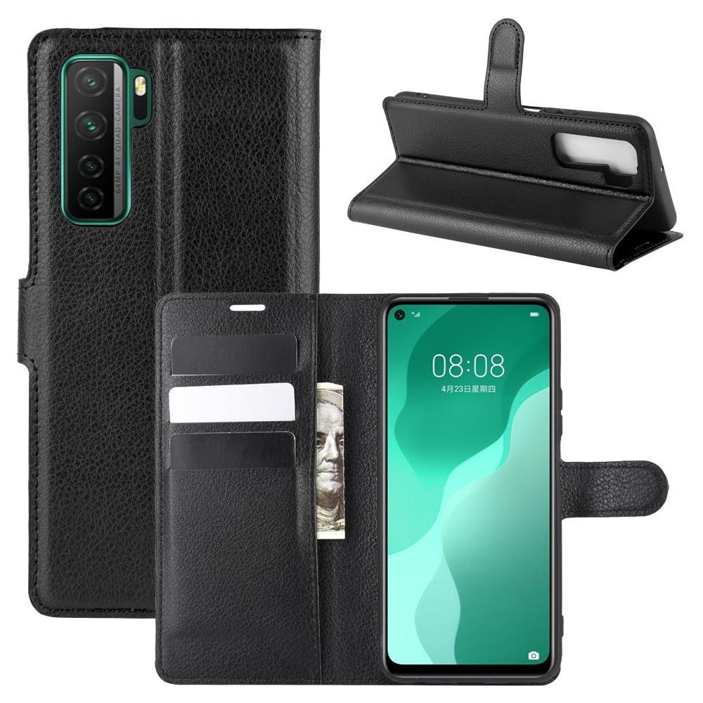 Mobilveske Huawei P40 Lite 5G svart