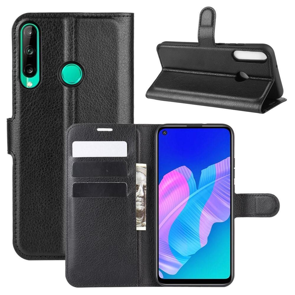 Mobilveske Huawei P40 Lite E svart