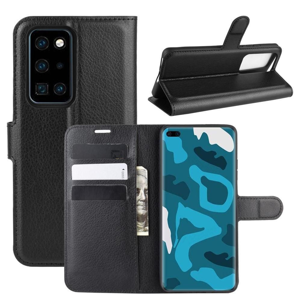 Mobilveske Huawei P40 Pro svart