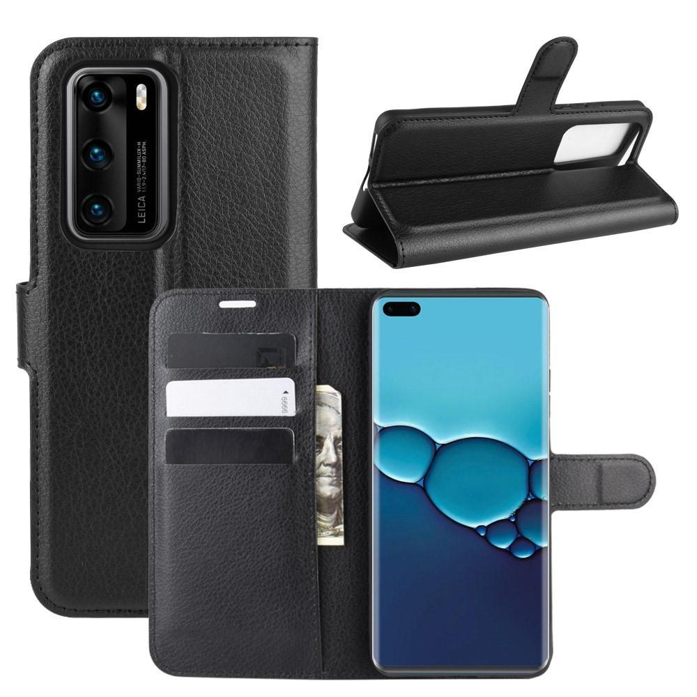 Mobilveske Huawei P40 svart