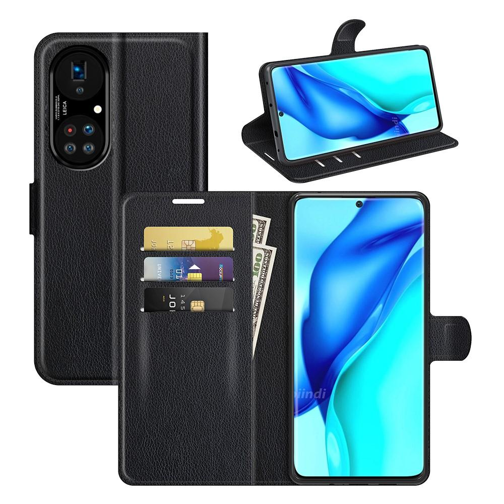 Mobilveske Huawei P50 Pro svart