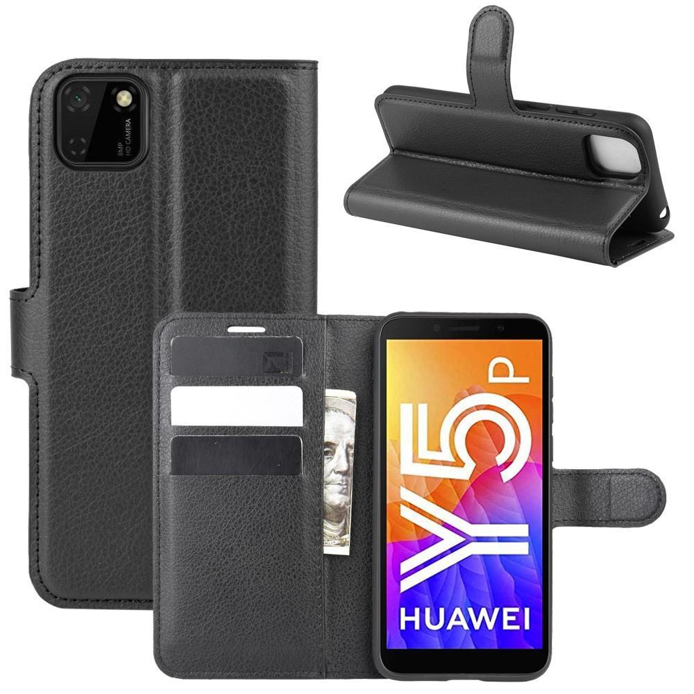 Mobilveske Huawei Y5p svart
