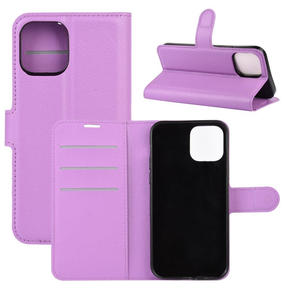 Mobilveske iPhone 12/12 Pro lilla