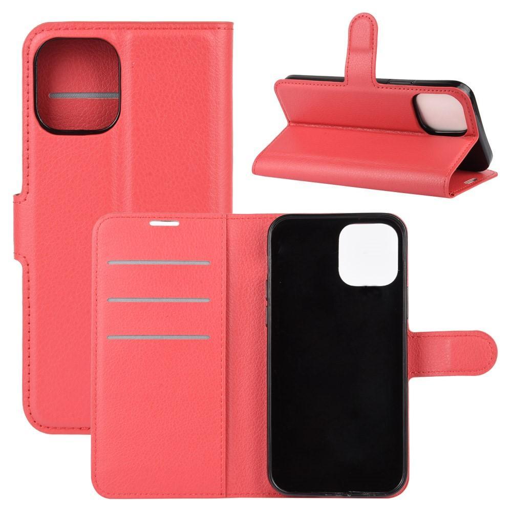 Mobilveske iPhone 12/12 Pro rød