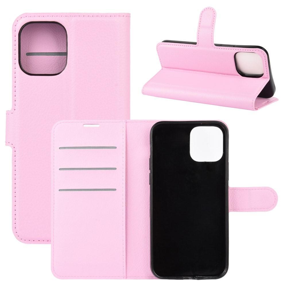 Mobilveske iPhone 12/12 Pro rosa