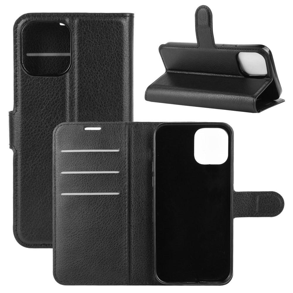 Mobilveske iPhone 12/12 Pro svart