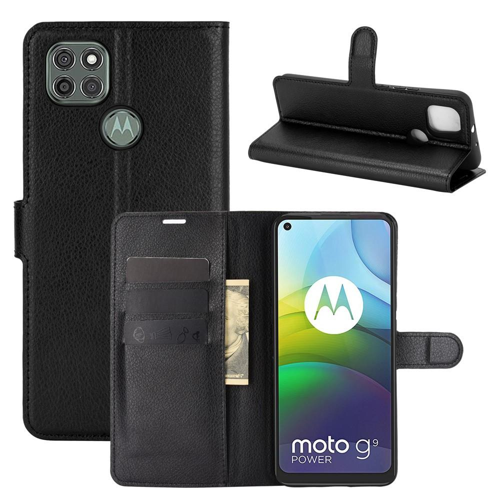 Mobilveske Motorola Moto G9 Power svart