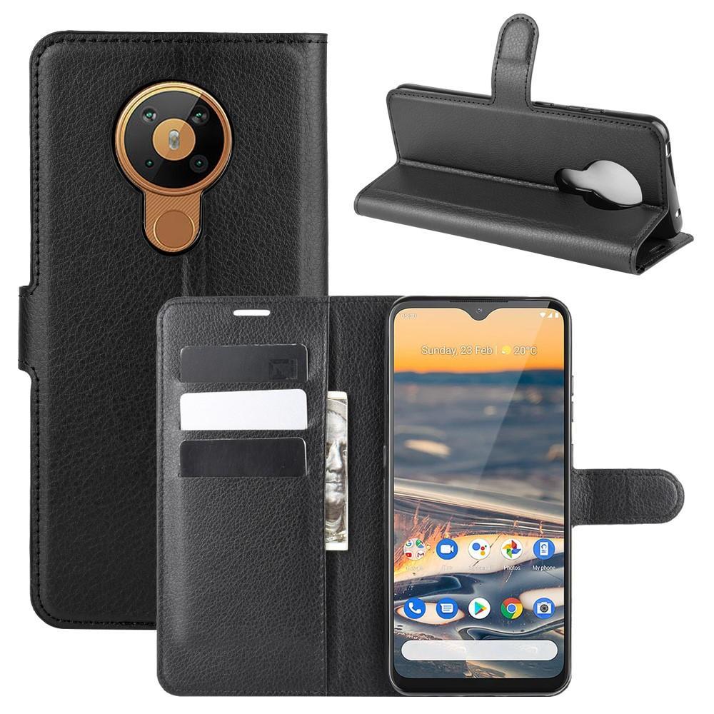 Mobilveske Nokia 5.3 svart
