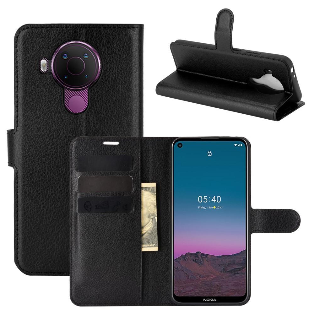 Mobilveske Nokia 5.4 svart