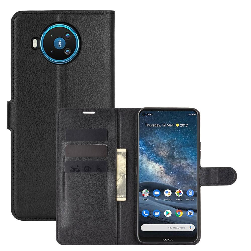 Mobilveske Nokia 8.3 5G svart