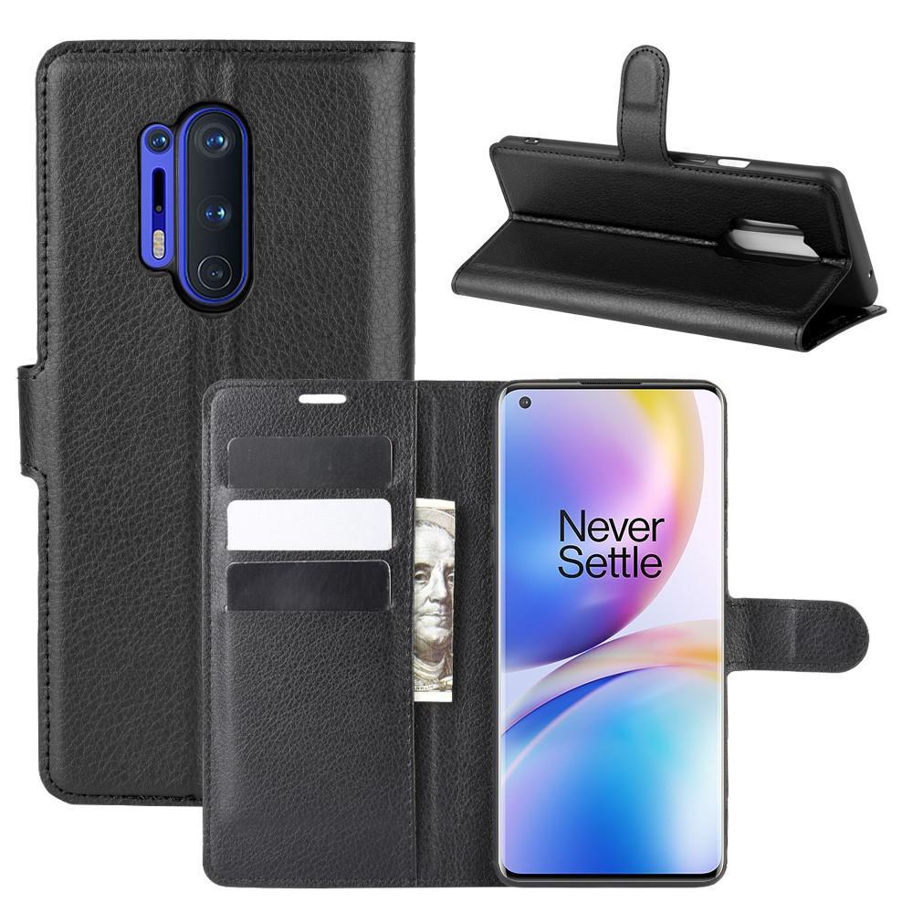 Mobilveske OnePlus 8 Pro svart