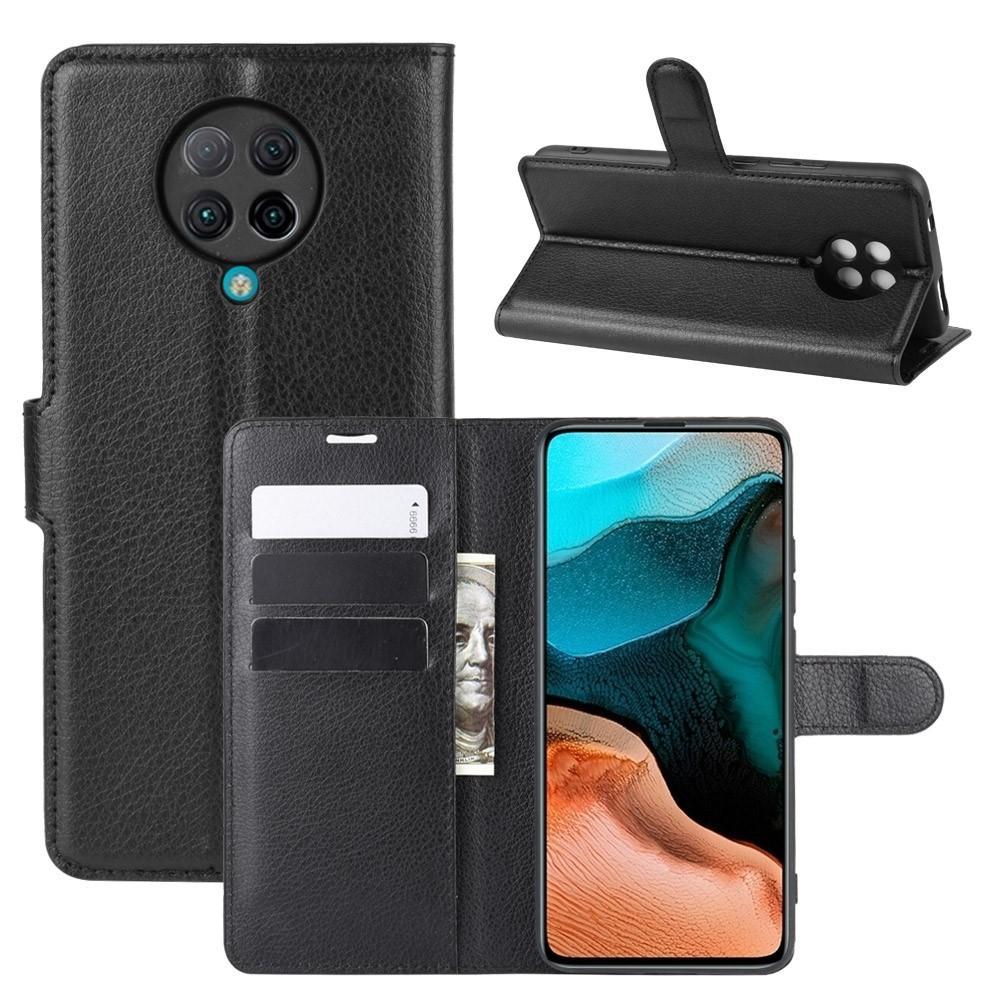 Mobilveske Poco F2 Pro svart