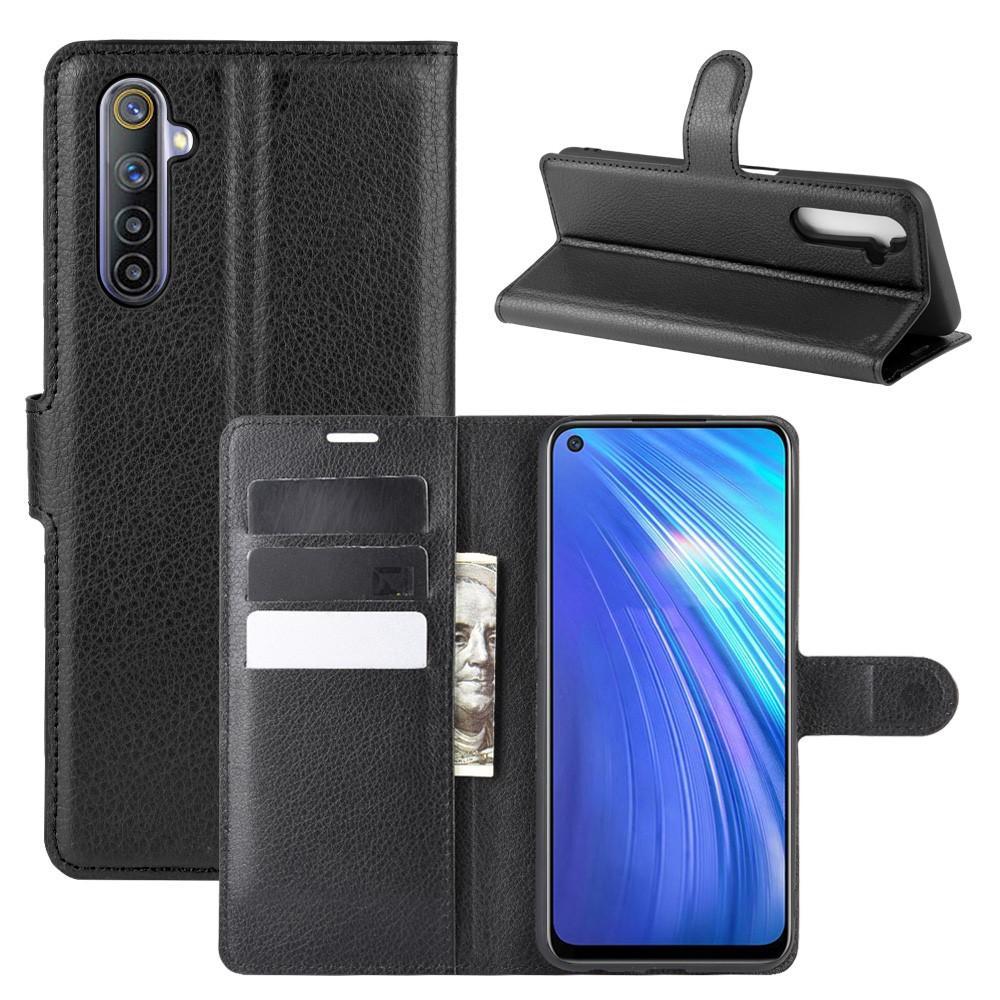 Mobilveske Realme 6 svart