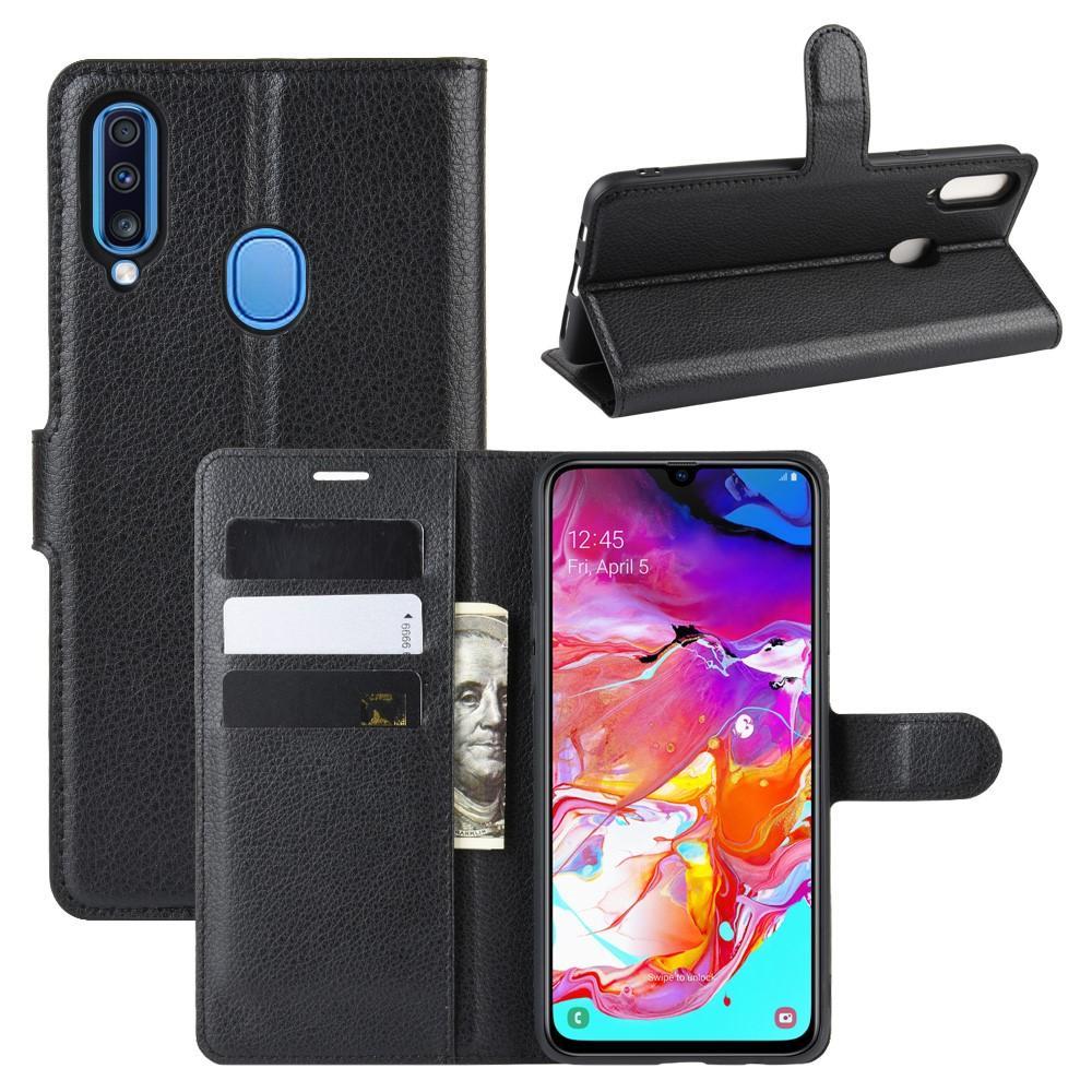 Mobilveske Samsung Galaxy A20s svart