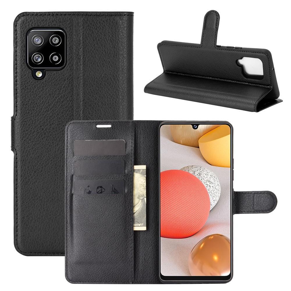 Mobilveske Samsung Galaxy A42 5G svart