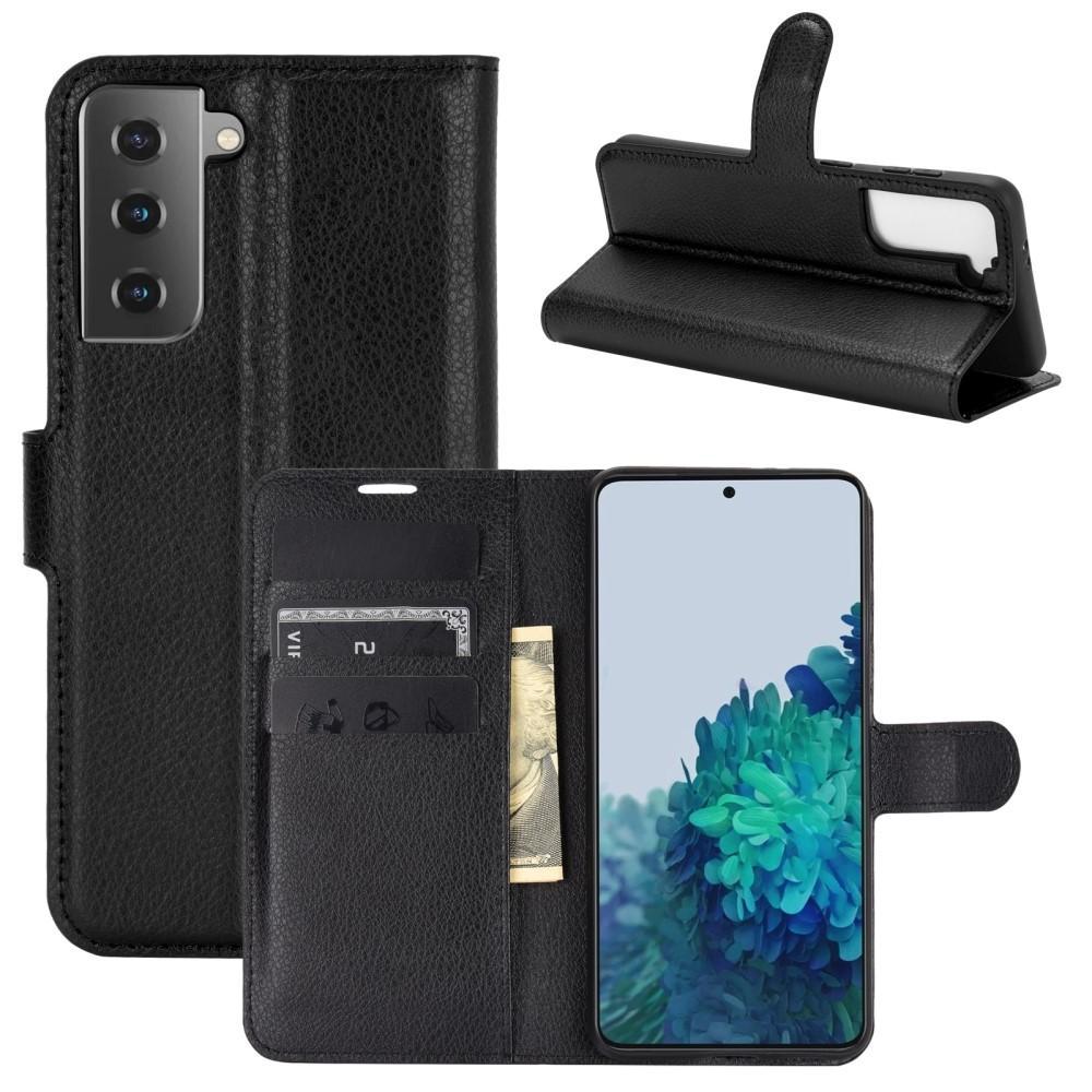 Mobilveske Samsung Galaxy S21 Plus svart