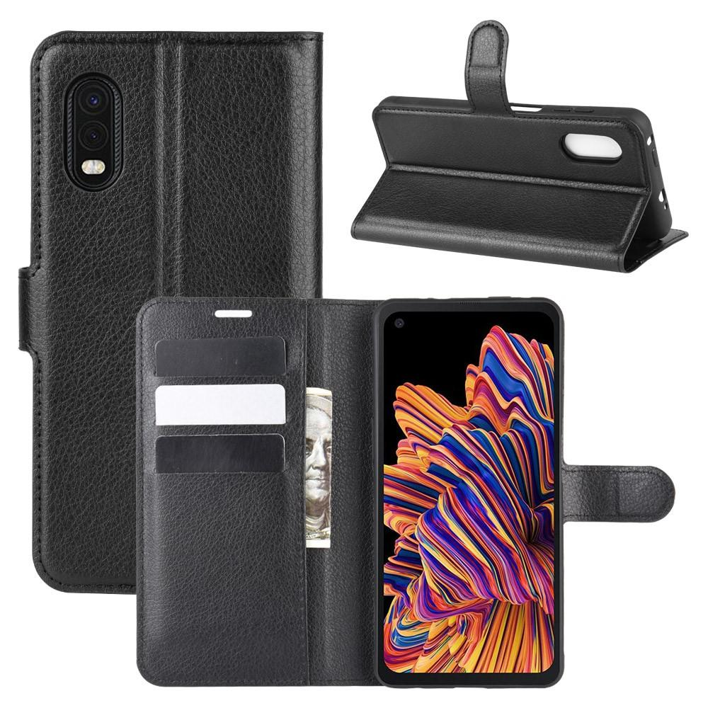 Mobilveske Samsung Galaxy Xcover Pro svart
